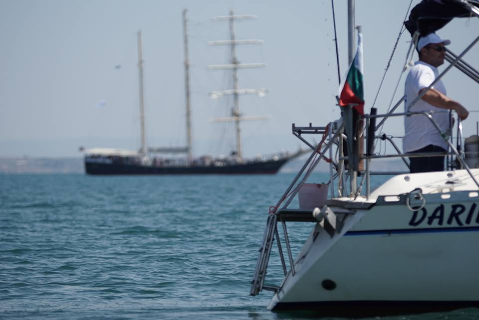 Коктейл на борда на баркентината Калиакра